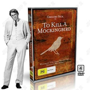 To Kill A Mocking Bird DVD : (1962) Original Movie : Gregory Peck: Brand New