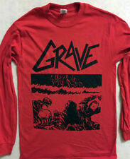"GRAVE "" Sick Disgust Eternal "" Long Sleeve T shirt Swedish Death Metal DISMEMBER"