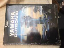 SELOC Yamaha V4 and V6 Outboard Motor Manual 1984-1988-1991, brand new