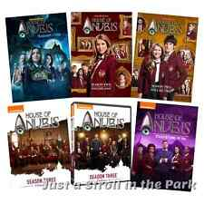House of Anubis Nickelodeon Series Complete Seasons 1 2 3 + Movie Box/DVD Set(s)