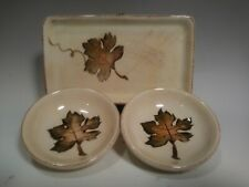Tabletops Unlimited Villa Grande Small Serving Plate Dish Tray Dipping Set