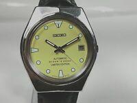 Vintage Seiko Automatic Movement Date Dial Mens Analog Wrist Watch AC540