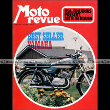 MOTO REVUE N°2085 YAMAHA 125 YAS 3 LAVERDA 750 SF TRIUMPH BSA 6H DE ROUEN 1972