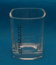 LUNAZUL TEQUILA Square Shot Glass Barware Bar Shooter