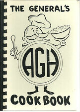 * AKRON OH 1964 THE GENERAL'S AGH COOK BOOK GENERAL HOSPITAL * LOCAL ADS * OHIO