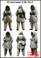 1:35 WWII German soldier in winter High Quality Resin Figure Kit