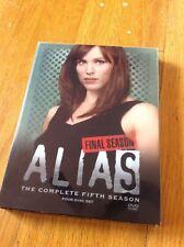 ALIAS The Complete 5th Fifth Season Final Season ** 4 Disc ** DVD Box Set *WoW*