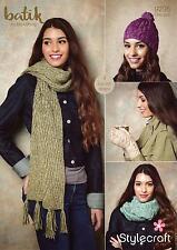 Stylecraft 9295 Knitting Pattern Womens Accessories in Stylecraft Batik DK