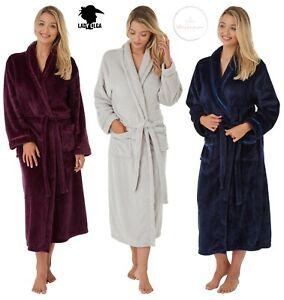 Lady Olga Soft Feel Belt Tie Dressing Gown Robe Wrap Christmas Gift Idea