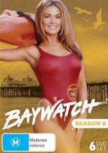 Baywatch Season 8 DVD 6-Disc Set New and Sealed Australian Release