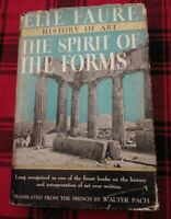 THE SPIRIT OF THE FORMS by ELIE FAURE 1937 Acceptable to Good Condition.