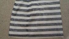 Abercrombie Black & White Sequin Girls Skirt Size 14/age 14