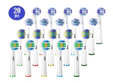20 Pcs Electric Toothbrush Replacement Heads Compatible With Oral B Braun Models