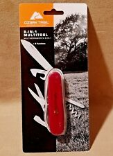 NEW OZARK TRAIL 8-IN-1 MULTITOOL WITH BLADE,CAN OPENER,PHILIPS,SCISSORS, & MORE