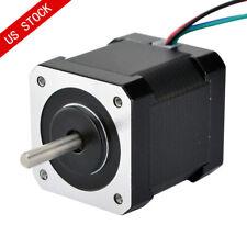 Dual Shaft Nema 17 Stepper Motor 44ncm623ozin 168a 4 Wire Cnc 3d Printer