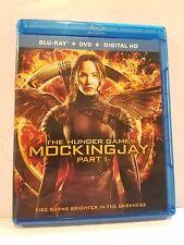 The Hunger Games Mockingjay Part 1 Blu-Ray 2014 Digital HD Katniss Movie