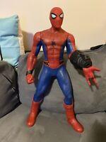 "2017 Marvel SPIDER-MAN Homecoming Super Sense 24"" Interactive Action Figure"