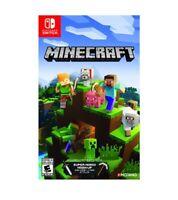 Mojang Minecraft Bedrock Edition Nintendo Switch Game