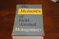 The Memoirs of Field-Marshal Montgomery - 1st Edition, 2nd Impression