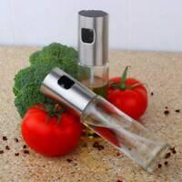 Oil Bottle Spray Olive Glass Pump Cooking Sprayer Tool Vinegar Stainless Steel l