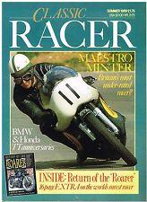 Classic Racer Summer 1989 Husqvarna BMW Honda Minter Witt   Francis Frend