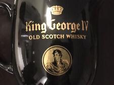 Black George Iv Old Scotch Whiskey Water Pitcher Jug England Wade Regicor
