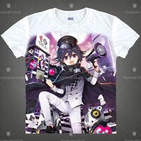 Anime danganronpa Ouma Kokichi Unisex Pullover White T-shirt Short Sleeve Tee