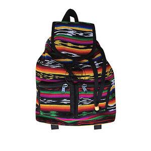"Backpack Sufer Reggae Rasta Hawaii Sack Tote Bag Hippie Irie Jamaica Marley 17"""