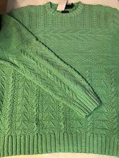 Vintage Polo Ralph Lauren Hand Knit Sweater Palm Beach XXL 2XL From 2001-2004