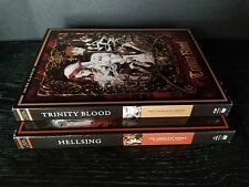 Funimation vampire Anime Classics Trinity Blood  And Hellsing Anime lot NEW