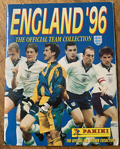 Squad Signed X81 England Euro 96 Panini Sticker Football Album Paul Gascoigne ++