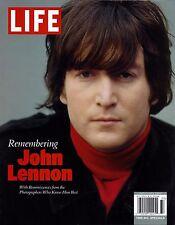 NEW! REMEMBERING JOHN LENNON BEATLES LIFE MAGAZINE SPECIAL EDITION No label 128p