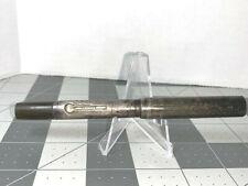 Eclipse Sterling Silver Fountain Pen 14k nib (read) ART DECO STYLE
