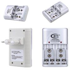 Universal Akku Batterie Ladegerät Charger Aufladegerät für AA AAA 9V Block Akkus
