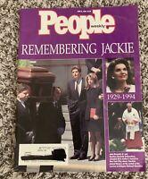 People Magazine Remembering Jackie(Jacqueline Kennedy)1929-1994