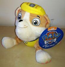 PELUCHE CANE Paw Patrol cartoni animati Rubble pupazzo cane dog plush soft toys