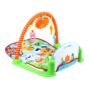 Tapis de jeu pour bébé  0-1 ans Couverture avec musique Piano