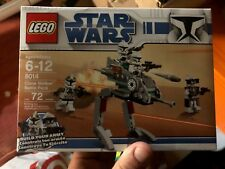 Lego Star Wars - 8014 CLONE WALKER BATTLE PACK Troopers New in Box Figures ARMY