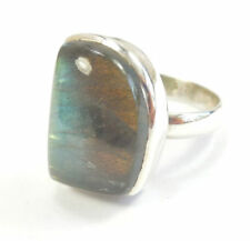 Labradorite Statement Sterling Silver Fine Rings