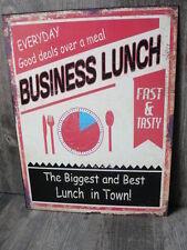 Deko-Schilder & -Tafeln mit American Diner