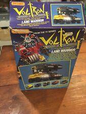 Vintage Matchbox Voltron Dairugger Land Warrior Box Only W/ Insert