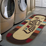 """Washtown Runner Rug Stain-Resistant and Shed-Free Soft Pile 20"""" X 59"""" Multicolor"""