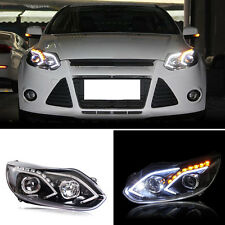 Newest Style For Ford Focus 12-14 Front LED Headlight DRL+Xenon HID Assembly OE