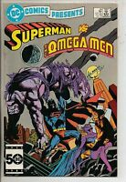 DC Comics Presents #89 January 1986 Superman & The Omega Men VF+