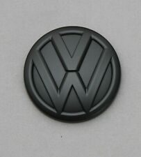 VW Golf 7 Logo Emblem Heckklappenöffner schwarz Matt