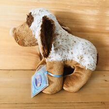 "WEBKINZ CHOCO CHEEKY DOG HM 694  13"" Long Plush Stuffed Puppy"