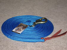 14 foot BLUE THOMEY HORSE LEAD FITS PARELLI TRAINING & OTHERS