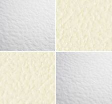 A4 ZANDERS ZETA HIGH QUALITY HAMMERED PAPER 100gsm in IVORY OR WHITE