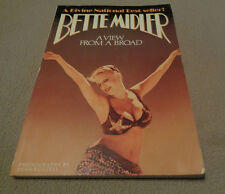 A View from a Broad - Bette Midler - Fireside Paperback - 1980