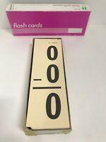 Vintage IDEAL SUBTRACTION FLASH CARDS No. 7237  100 Cards 200 Problems Math